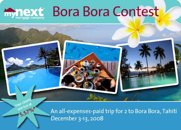 Bora bora contest