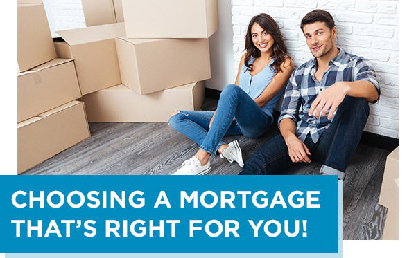 Choosing A Mortgage That's Right For You!