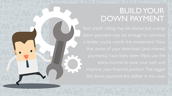 Build your down payment